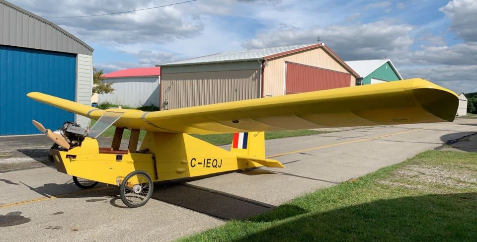 For Sale: Sky Pup with Rotax 277. I am posting this for Curt.  It's hagared at Rostraver airport. Try it on for size! Only $2,500. Hell some RC planes cost more than this! 412-589-7292