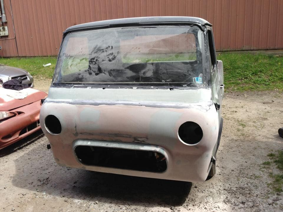 Got this one today! I've been watching too many of those car restoration shows on tv this winter. 1962 Econoline van.