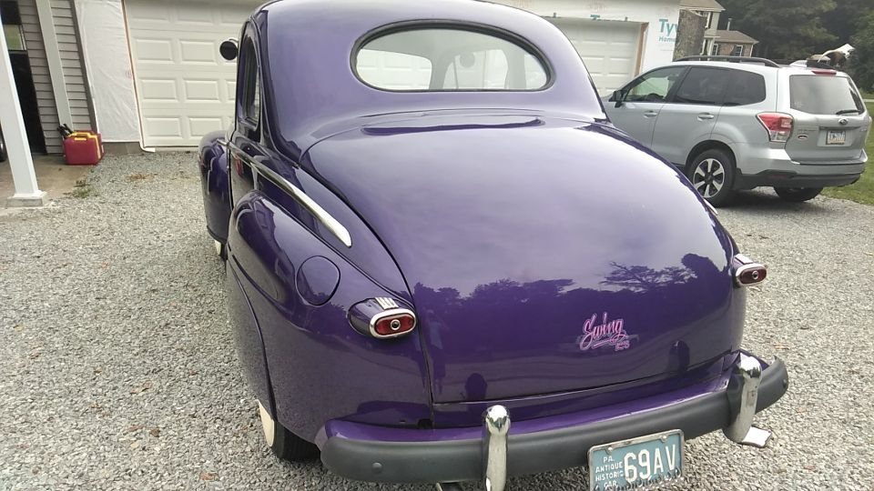 47 Ford Coupe and 47 Chevy Fleetmaster. Got my 47's taken care off!