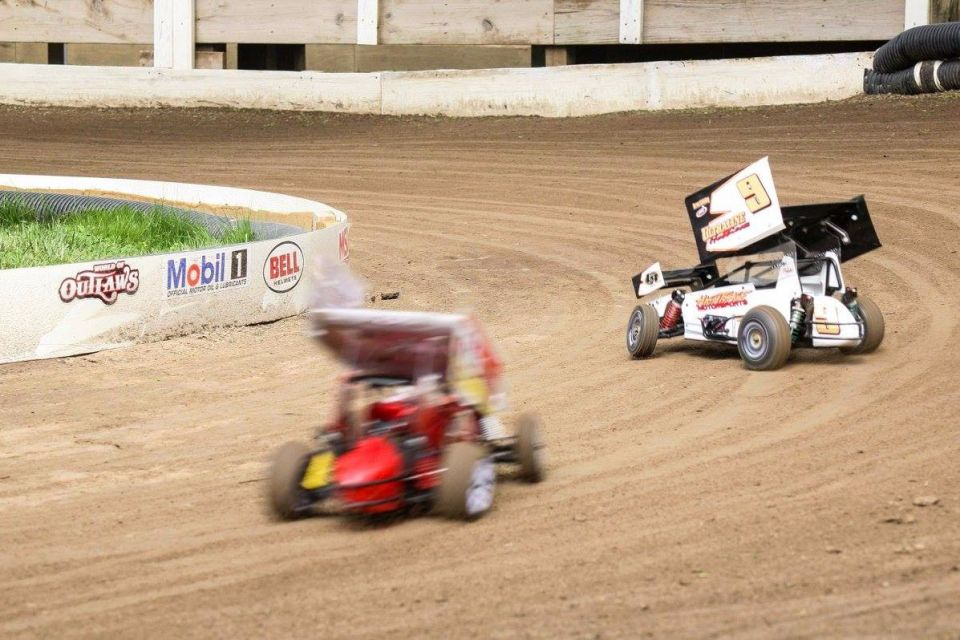 Check out the neat dirt Sprint cars! Electric too. That makes it hassle free! I'd definitely get one if there was a track around here!