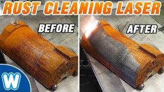 1000W Rust Cleaning Laser - Removes Rust Effortlessly