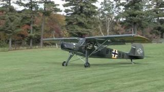 Fieseler Storch take-off